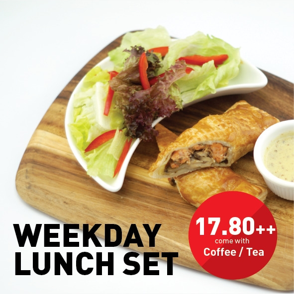 Weekday Gourmet Set Lunch @ The Restaurant