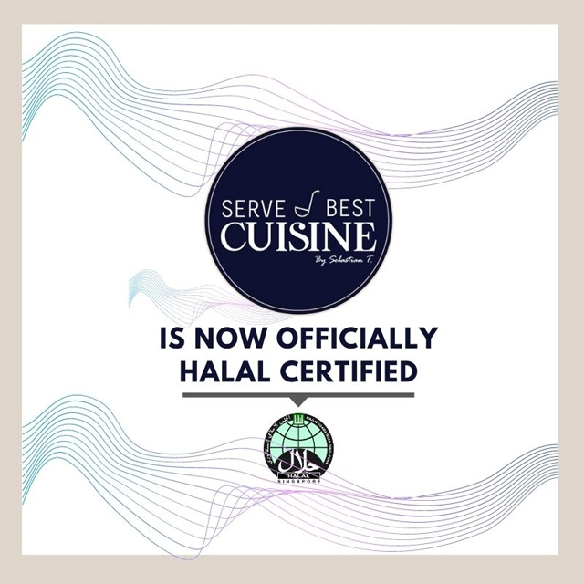 Serve Best Cuisine @ SPGG is Now Officially Halal Certified!