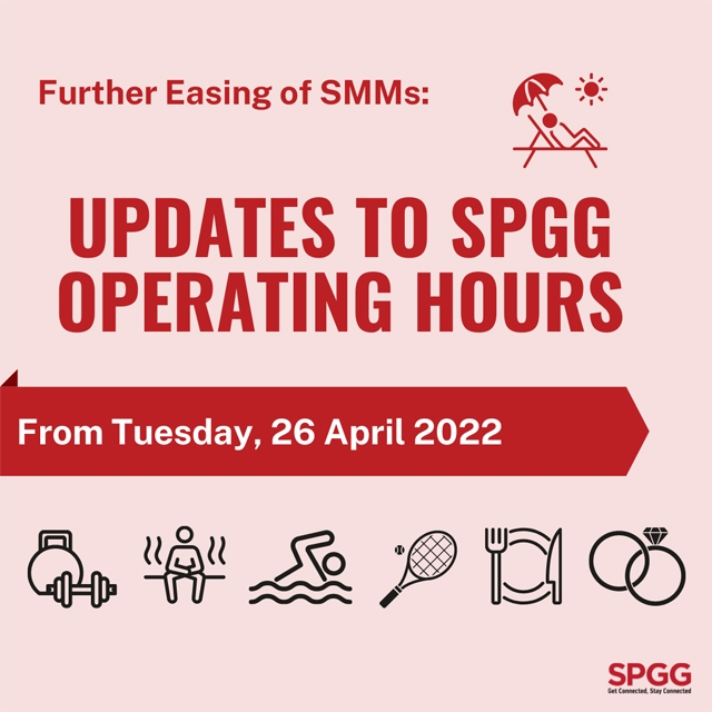 Update to SPGG Operating Hours from Fri, 1 Jan 2021 Onwards